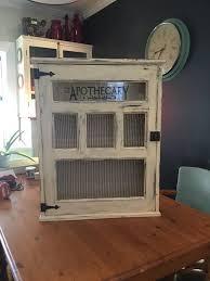 vintage apothecary cabinet medicine