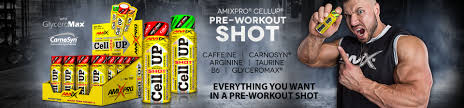 Výsledek obrázku pro CellUp Pre-Workout Shot 60ml