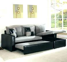 convertible sofa bed with storage and trundle