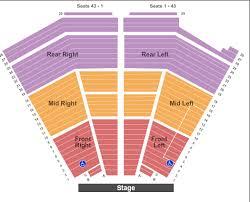 Printable Van Wezel Seating Chart Van Wezel Performing Arts Hall Seating Chart Sarasota