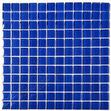 dark blue tiles. Modren Tiles BORDEAUX GLASS MOSAIC TILE DARK BLUE  A64   Throughout Dark Blue Tiles S