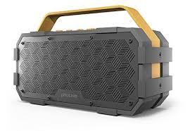 portable outdoor speakers. photive m90 portable waterproof bluetooth speaker with built in subwoofer. 20 watts of power- ipx5 water resistant- rugged outdoor speakers