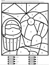 Small Picture Color By Number Beach Ball Free coloring Beach ball and Worksheets