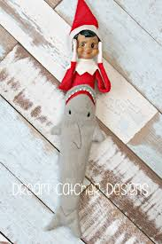 """Dream Catcher Dolls ITH Small DollElf Shark Tail Embroidery Design 100 """" Dolls 85"""