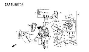 honda trx carburetor diagram honda image 1986 honda fourtrax foreman 350 4x4 trx350 carburetor parts best on honda trx 350 carburetor diagram