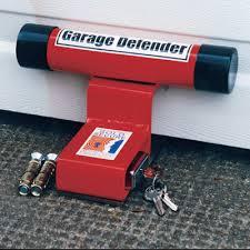 garage defender red