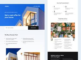 Real Estate Board Design Real Estate Agency Home Page By Kate Pavlenko On Dribbble