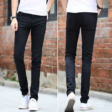 Mens <b>tight</b> stretch pants Slim Jeans <b>autumn fashion</b> cowboy skinny ...