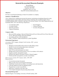 Elegant Accounting Resume Objective Statement Mailing Format