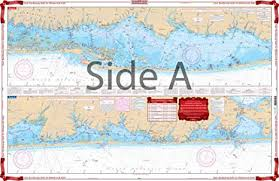 Shinnecock Bay Nautical Chart Waterproof Charts Standard Navigation 59 East Rockaway Inlet To Shinnecock Inlet