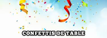 Confettis de table pour fête | Déguisement Magic