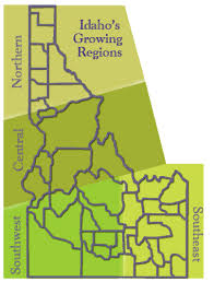 Idahos Growing Regions Idaho Landscapes And Gardens