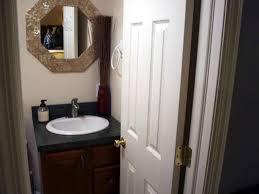 Small Half Bath Dimensions Budget Bathroom Makeover 3x5