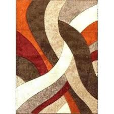 orange and brown area rug orange and brown rug orange area rug area rugs