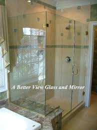 seamless glass shower glass shower enclosure installed frameless glass shower doors cost india