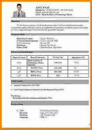 5 Cv Format Pdf For Freshers Theorynpractice