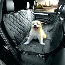 car seat hammock car seat covers for dogs pet cars cover auto back rear barrier quilted