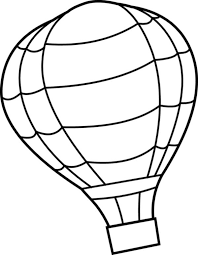 Small Picture Hot Air Balloon Coloring Pages for Kids Bulk Color