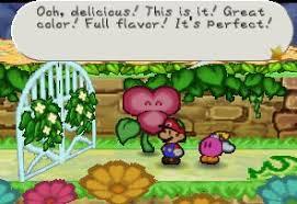 Flower Fields Paper Mario Gate Flower Mariowiki Fandom Powered By Wikia