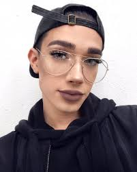 james charles on twitter would you guys rather have me film my everyday makeup routine left or my no makeup makeup look right but without the