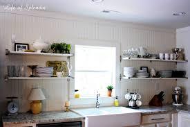 Open Shelving Kitchen Cabinet Open Shelving Kitchen Cabinet