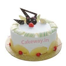 Send Pineapple Birthday Cake To Vijayawada Order Pineapple Cake