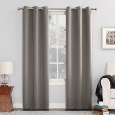 Gray and beige curtains Curtain Panel Sun Zero Hayden Grommet Blackout Single Curtain Panel Overstockcom Buy Grey Curtains Drapes Online At Overstockcom Our Best Window