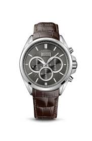 hugo boss gents croc embossed leather strap driver chronograph hugo boss gents croc embossed leather strap driver chronograph watch 1513035