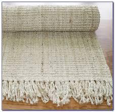 bleached ivory basket weave jute rug