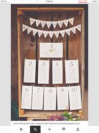 Joke Table Plan With Bunting In 2019 Seating Chart Wedding