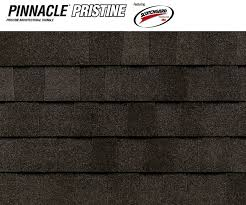 architectural shingles colors. Pinnacle Pristine Featuring Scotchgard? Protector - Black Architectural Shingles Colors