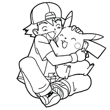 Pikachu Coloring Page Coloring Pages Free Is Happy Page Humor Junior