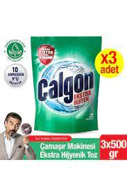 Calgon Çamaşır Makinesi Hijyenik Kir ve Kireç Önleyici 500 gr Toz 3'lü Set  Fiyatı, Yorumları - Trendyol