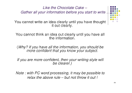 technical report writing chocolate cake k christian  department 26 like the chocolate cake