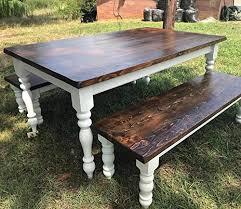 chunky farmhouse table legs