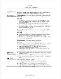 Resume File Format Resume Template Sample