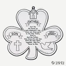 Small Picture Color Your Own Shamrock Trinity Cutouts Hobby supplies Oriental