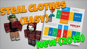 How To Make Clothing For Roblox How To Make Your Own Clothes On Roblox 2019 Sinma