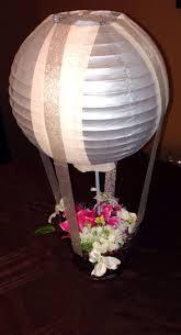 DIY Hot air balloon centerpieces
