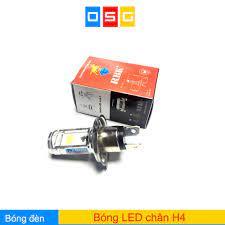 Bóng led siêu sáng chân H4 dùng cho wave RS, airblade và nhiều xe khác