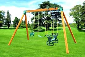 infant outdoor swing set small with slide childrens sets toddler backyard fisher