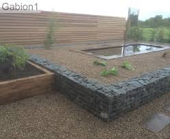 Small Picture gabion retaining wall with raised water feature httpwww