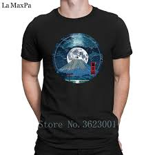 Print Pictures Tshirt Man Mt Fuji Night Lp Sky Tee Shirt Best Great T Shirt For Men Cheap Mens T Shirt Clothing Round Neck Clever Tee Shirts Now T