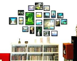 large collage photo frames ikea black frame app wall ideas picture decorating engaging