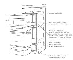 double wall oven installation height wall oven width wall oven dimensions cabinet wall oven dimensions whirlpool