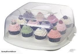 New Sistema Bake It Cake And Cupcake Storer With Trade Me