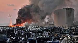 ช็อก ระเบิดกรุงเบรุต แรงเท่าแผ่นดินไหวระดับ 3.3 ตายพุ่ง 78 ศพเจ็บ 4,000