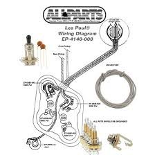 wiring kit for les paul allparts com les paul wiring diagram seymour ep 4140 000 wiring kit for gibson� les paul�