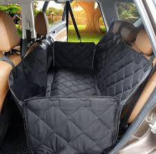 dog car seat cover scratch proof back seat machine washable non slip hammock