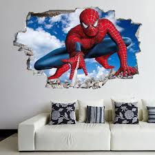 spiderman superhero wall decal sticker